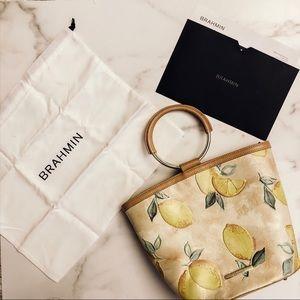 NWT Brahmin Mod Bowie lemons handbag